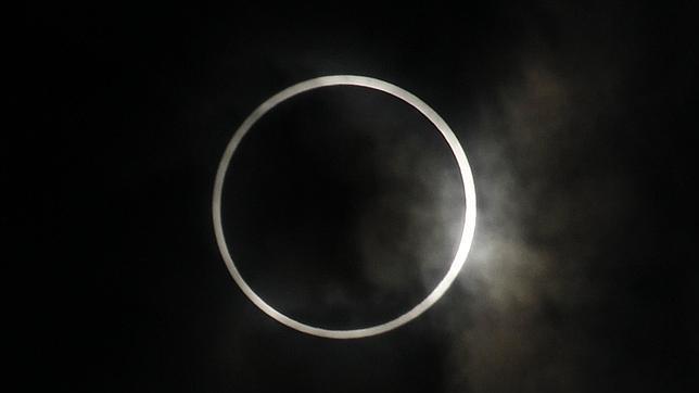 Un eclipse solar anular