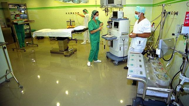 Quirófano de un hospital