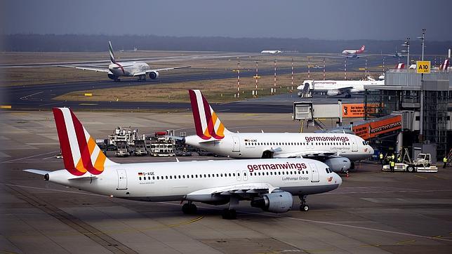 Dos aviones de la aerolínea Germanwings
