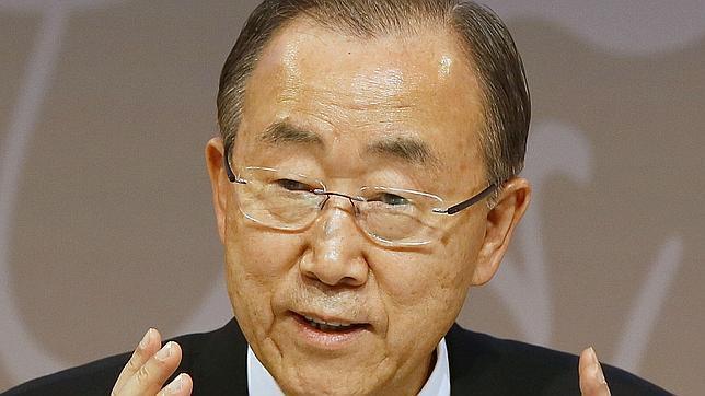El secretario general de Naciones Unidas, Ban Ki Moon,
