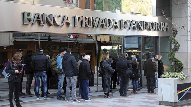 Una de las sedes de la Banca Privada de Andorra
