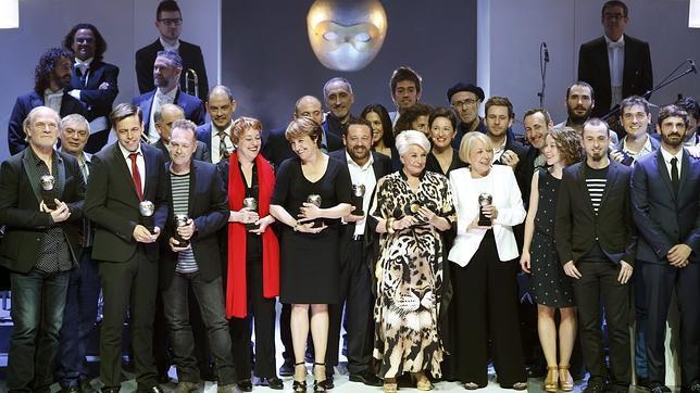 Todos los galardonados de la XVIII edición de los Premios Max