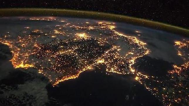 Imagen del vídeo difundido por la ESA