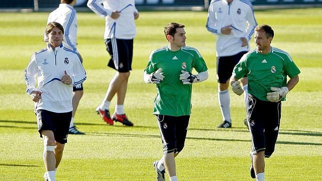 Ramos, Casillas y Dudek