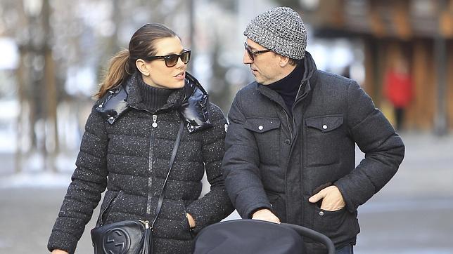 La pareja en una fotografía del pasado invierno