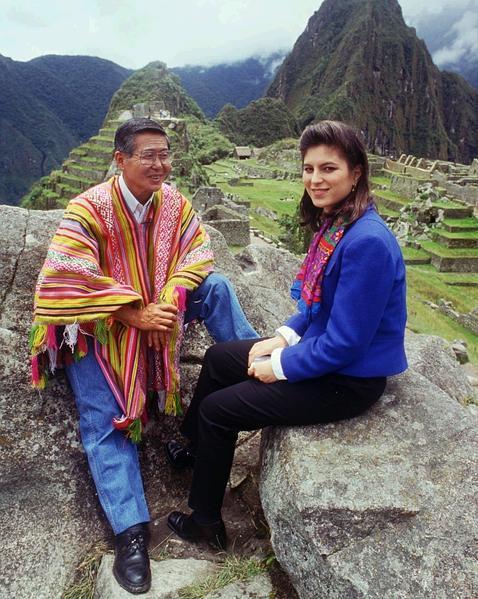 Chábeli Iglesias visitó Perú de la mano de Alberto Fujimori en 1996