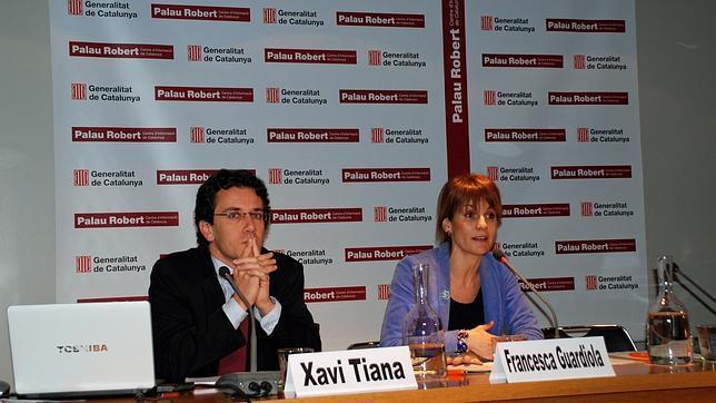 Francesca Guardiola, durante una presentación pública