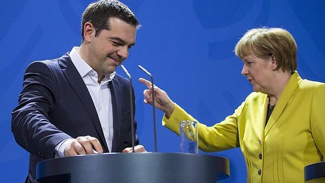 Tsipras y Merkel, el pasado 28 de junio