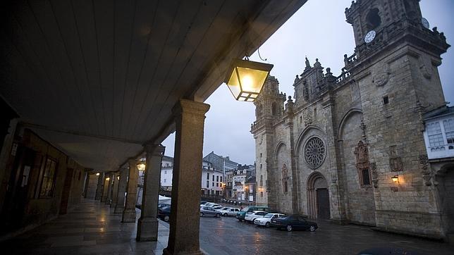 La Catedral de Mondoñedo forma parte del Camino del Norte a Santiago