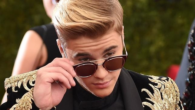 Bieber en la Gala del MET
