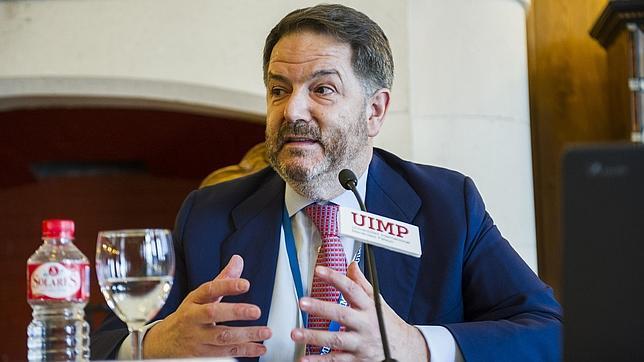 Bieito Rubido ha visitado este jueves la Universidad Internacional Menéndez Pelayo