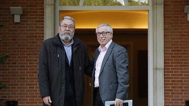 Cándido Méndez e Ignacion Fernández Toxo