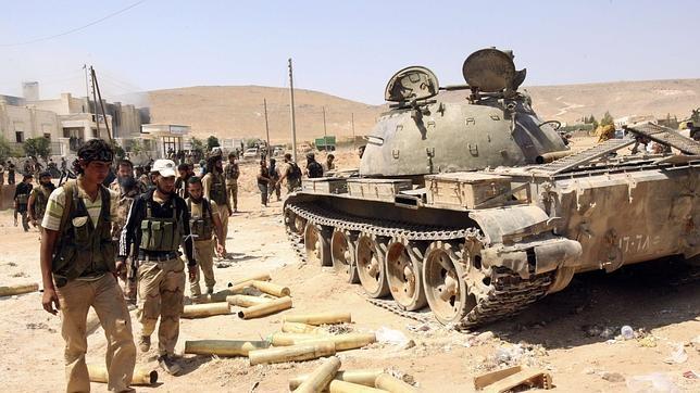 Miembros del Ejército Libre Sirio en una imagen de 2013