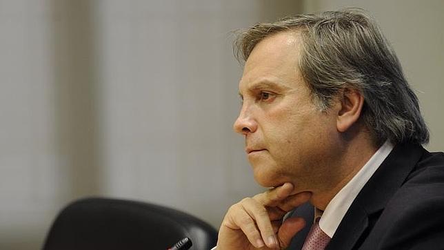 Antonio Miguel Carmona, tras su destitución como portavoz municipal socialista en el Ayuntamiento