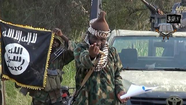 Abubakar Shekau, líder de Boko Haram, en un vídeo lanzado el pasado mes de octubre
