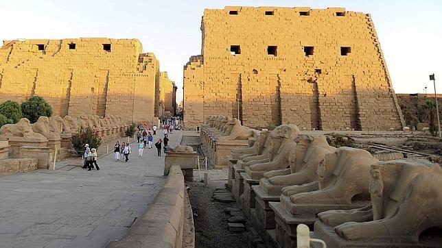 El hallazgo se ha producido cerca de Luxor