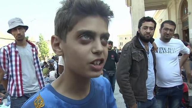 Kinan Masalmeh en el vídeo de Al Jazeera.