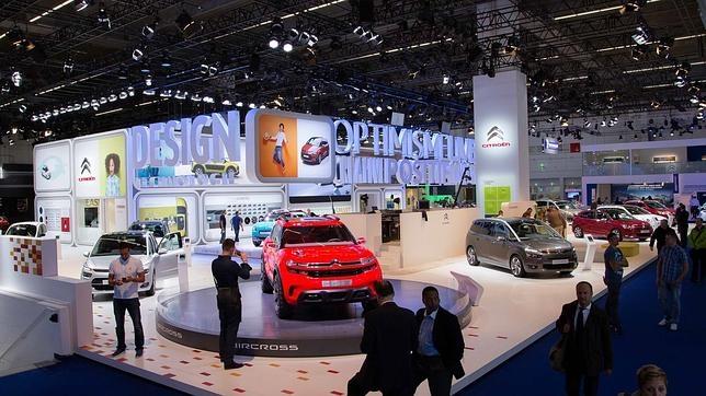 Stand de Citroën en el Salón Internacional de Frankfurt