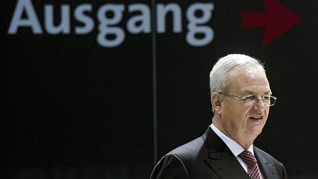 El presidente de Volkswagen, Martin Winterkorn