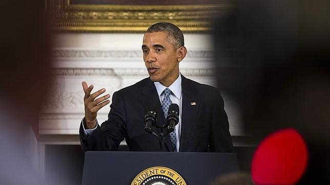 Barack Obama, en una declaración en la Casa Blanca