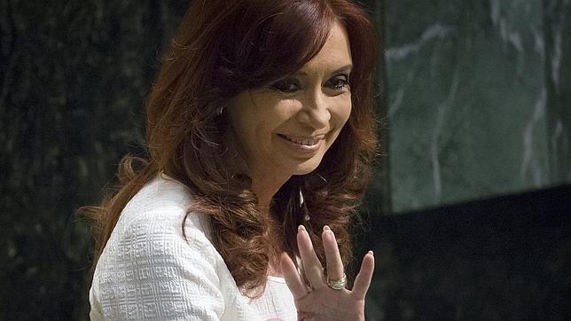 Cristina Fernández, presidenta de Argentina, en su discurso ante la Asamblea General de la ONU