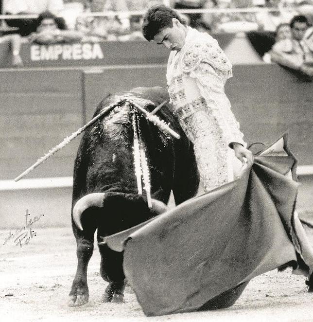 Finito de Córdoba embelesó de novillero a la afición maña