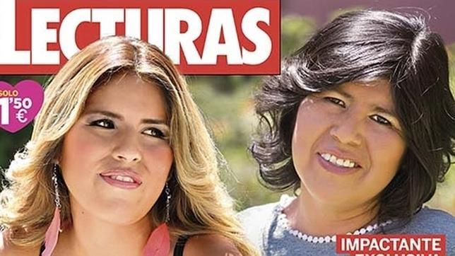 Chabelita y su madre biológica, Roxana Gioavanna Luque Salca