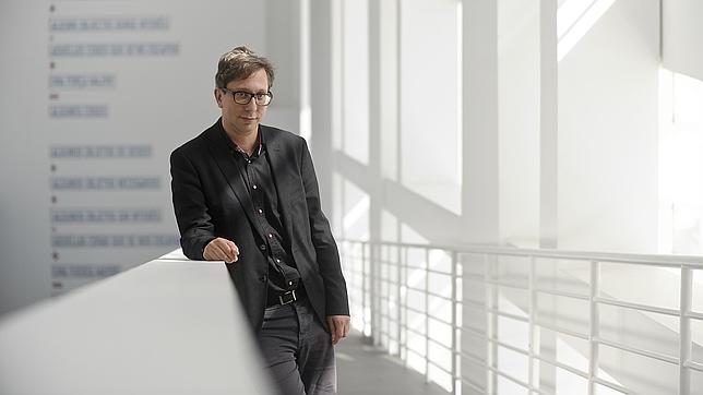 Ferran Barenblit, fotografiado en el Macba