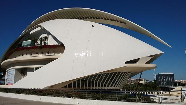 Imagen de la fachada del Palau de las Arts de Valencia