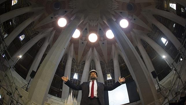 La torre de Jesucristo de la Sagrada Familia alcanzará los 172,5 metros