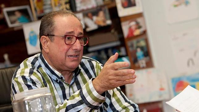 Carlos Príncipe, durante la entrevista con ABC