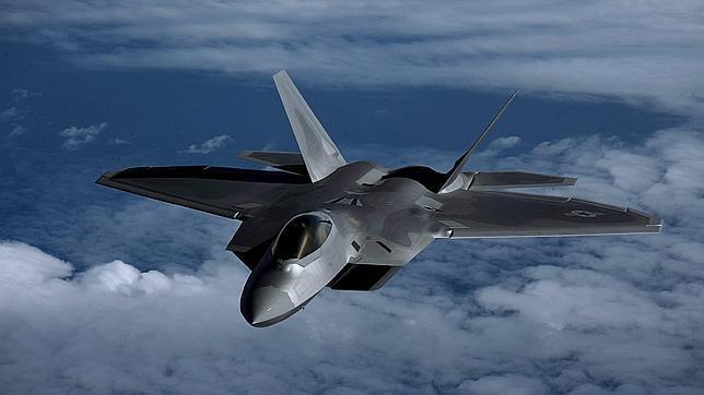 El F-22 «Raptor» es el caza más moderno de la Fuerza Aérea de EE.UU.