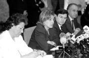 Barberá, Mas, Castellano y Blasco adoptaron ayer medidas contra la droga. Mikel Ponce