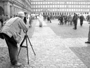 Las visitas turísticas tienen su punto de partida en la Plaza Mayor de Madrid, y son totalmente gratuitas. Daniel G. López