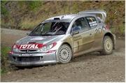 Markus Gronholm es el líder del Rally de Inglaterra
