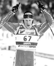 Muehlegg es la esperanza española en los Juegos de invierno de Salt Lake. ABC