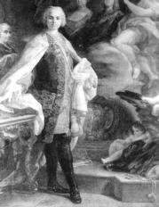Retrato de Farinelli, realizado por C. Giaquinto, en el Museo Cívico de Bolonia