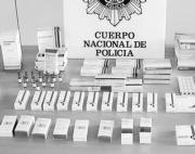 Esteroides anabolizantes incautados ayer por la Policía.DGP