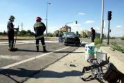 ICAL  Tres personas resultaron heridas en un choque entre dos vehículos en la  confluencia entre la ronda Este con la avenida de Segovia de Valladolid