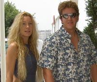 ABC  Borja Thyssen y Blanca Cuesta, en una foto reciente