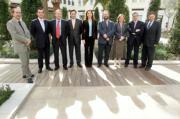 ROBER SOLSONA  Los miembros del jurado que premió al periodista y divulgador científico Eduard Punset