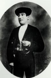ARCHIVO SANTAINÉS  Manuel Mejías Luján Bienvenida, cabeza de un  linaje de grandes toreros  José Mejías Rapela, Bienvenida II
