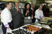 ICAL  El alcalde de Valladolid y la concejala de Turismo prueban las croquetas en Madrid Fusión