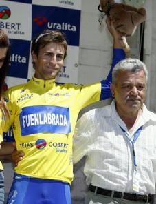 Miranda ganó ayer la segunda etapa de la Vuelta a Toledo