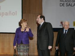Herrera reclama el uso del español como lengua de trabajo en la UE «al mismo nivel que el inglés»