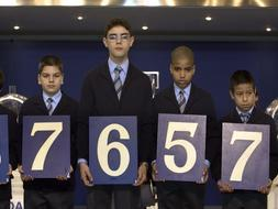 Los madrileños se la juegan al 7 en la Lotería, pero el Gordo prefiere el 5