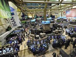 Vista general del interior de la sede de la Bolsa de Nueva York. /Archivo
