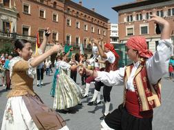 La SGAE cobra al festival folclórico de Jaca por obras que son de dominio público