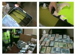 Una banda de narcos blanqueaba dinero con el mismo método de Al Qaida