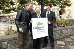El logotipo de Las Palmas sigue envuelto en la polémica